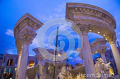 Las Vegas , Ceasars Palace Editorial Stock Photo
