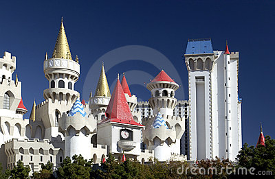 Las Vegas - Excalibur Casino - Nevada - USA Editorial Image