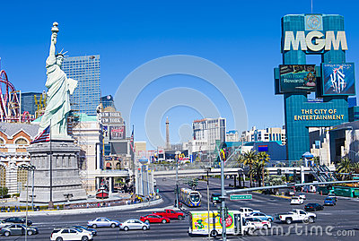 Las Vegas Editorial Stock Image