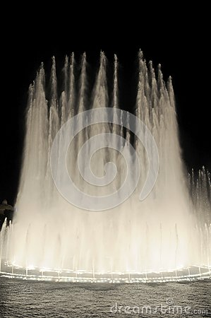 Las Vegas Fountains I