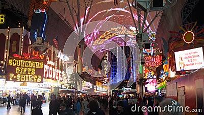 Las Vegas Fremont al rallentatore