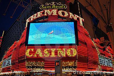 Las Vegas Fremont Casino Editorial Photo