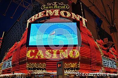 Las Vegas Fremont Casino Editorial Photo