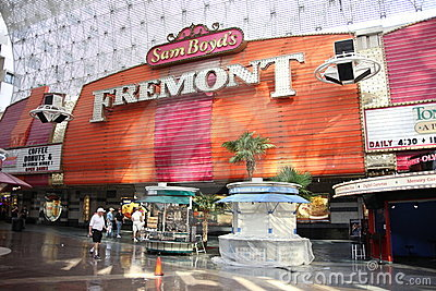 Las Vegas - Fremont Hotel and Casino Editorial Photography