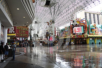 Las Vegas - Fremont Street Experience Editorial Photography