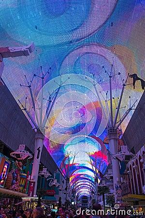 Las Vegas Fremont Street Performers