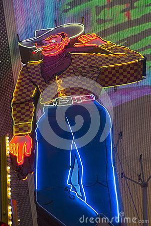 Las Vegas , Fremont Street Experience Editorial Stock Photo