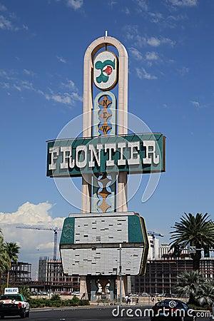 Las Vegas - Frontier Hotel Editorial Image