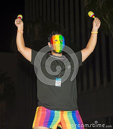 Las Vegas gay pride Editorial Image