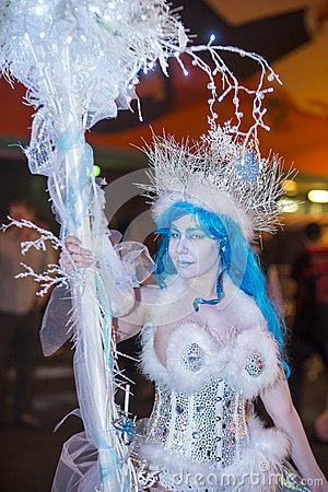 Las Vegas Halloween parade Editorial Photo