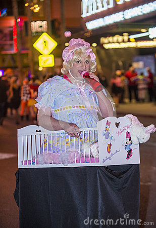 Las Vegas Halloween parade Editorial Stock Image