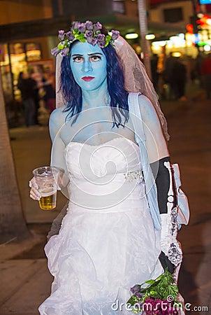 Las Vegas Halloween parade Editorial Photo