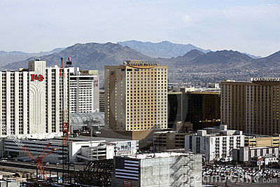 Las Vegas historic downtown fremont street Editorial Photography