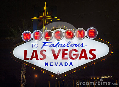 Las Vegas Editorial Stock Photo