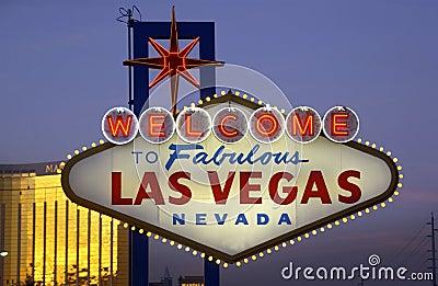 Las Vegas - los E.E.U.U. Imagen de archivo editorial