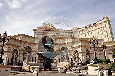 Las Vegas Monte Carlo Editorial Stock Image