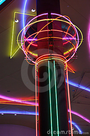 Las Vegas neon lights Editorial Photo