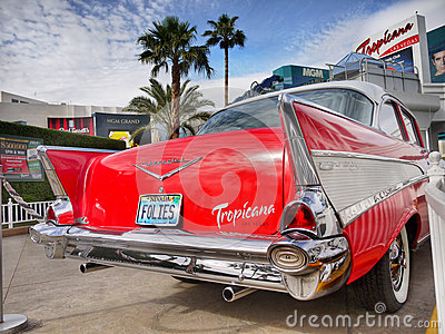 Las Vegas, Nevada - Chevrolet Bel Air Tropicana Hotel
