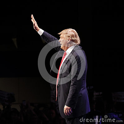 Free LAS VEGAS NEVADA, DECEMBER 14, 2015: Republican Presidential Candidate Donald Trump Speaks At Campaign Event At Westgate Las Vegas Royalty Free Stock Image - 66213956