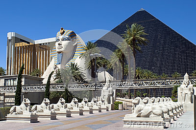 Las Vegas, Nevada -  Luxor Hotel and Casino Editorial Photo