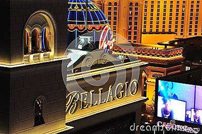 Las Vegas at night Editorial Photography