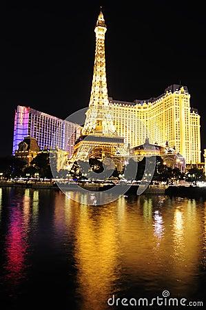 Las Vegas at night Editorial Stock Image