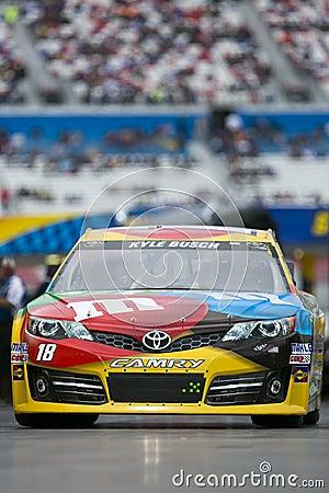 NASCAR: Kyle Busch Editorial Stock Image