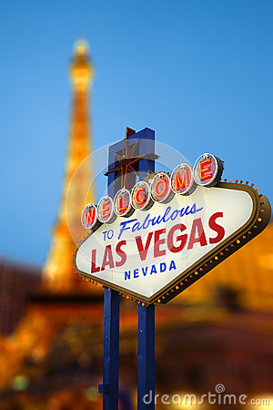 Free Las Vegas Sign Stock Photography - 44626882