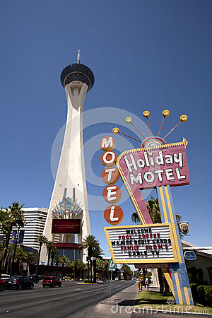 Las Vegas Stratosphere Editorial Photography