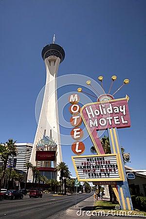 Las Vegas Stratosphere Editorial Photography
