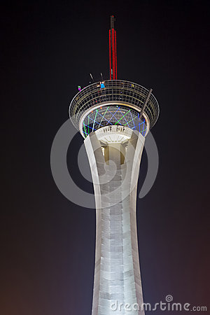 Las Vegas , Stratosphere Tower Editorial Photo