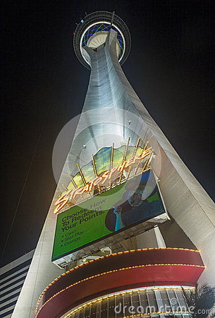 Las Vegas , Stratosphere Tower Editorial Stock Photo