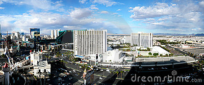 Las Vegas Strip Editorial Image