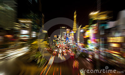 Las Vegas Strip Editorial Photo