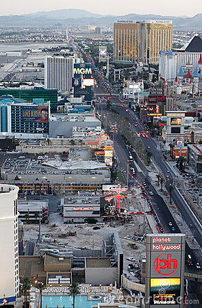 Las Vegas strip Editorial Photography