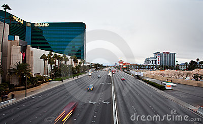 Las Vegas Strip Editorial Stock Image