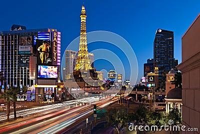 Las Vegas Strip Editorial Image