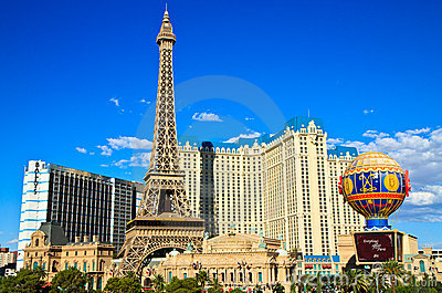 Las Vegas Strip skyline at day time Editorial Photography