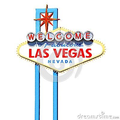 Las Vegas tecken