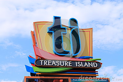 Las Vegas - Treasure Island Hotel And Casino Stock Photos - Image: 26661183