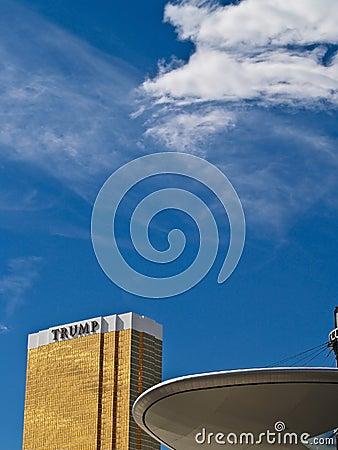 Las vegas Trump Hotel. Editorial Photography