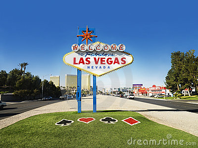 Las Vegas Welcome Sign Editorial Photo