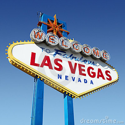 Free Las Vegas Welcome Sign. Royalty Free Stock Images - 3284099
