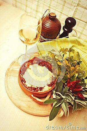 ιταλικό lasagna παραδοσιακό