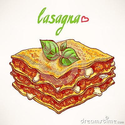 Lasagna Cartoons, Lasagna Pictures, Illustrations And Vector Stock ...