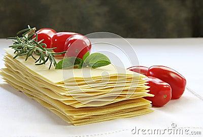 Lasagne Ingredients