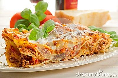 Lasagne with ragu