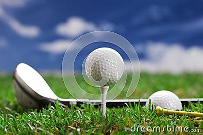 Lascia il gioco un giro del golf!