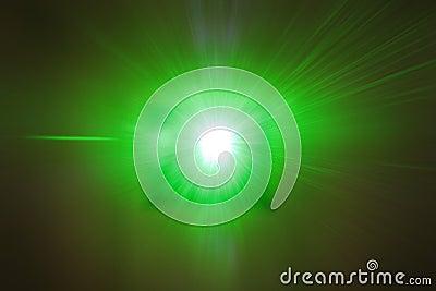 Laser Beam POV