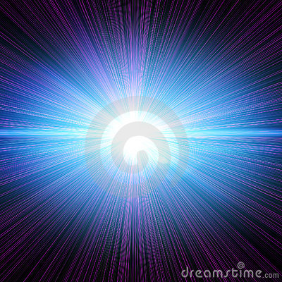 Free Laser Burst Royalty Free Stock Image - 6503496